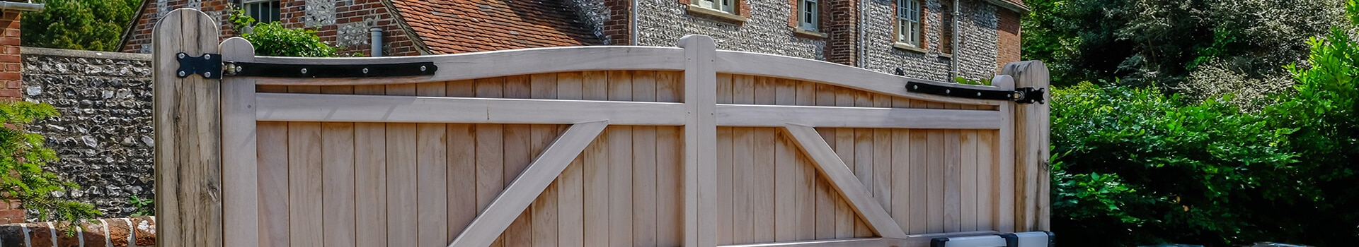 Automatic Gate Fence Type