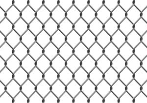 type of chain link fence