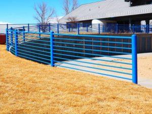 NOLA Metal fence posts - Big Easy Fences