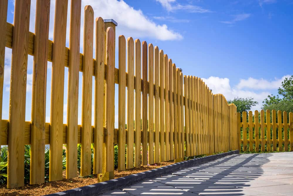 New Orleans Simple wood fence designs - Big Easy Fences