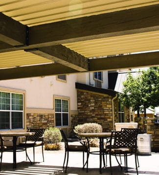 patio covers - Big Easy Fences