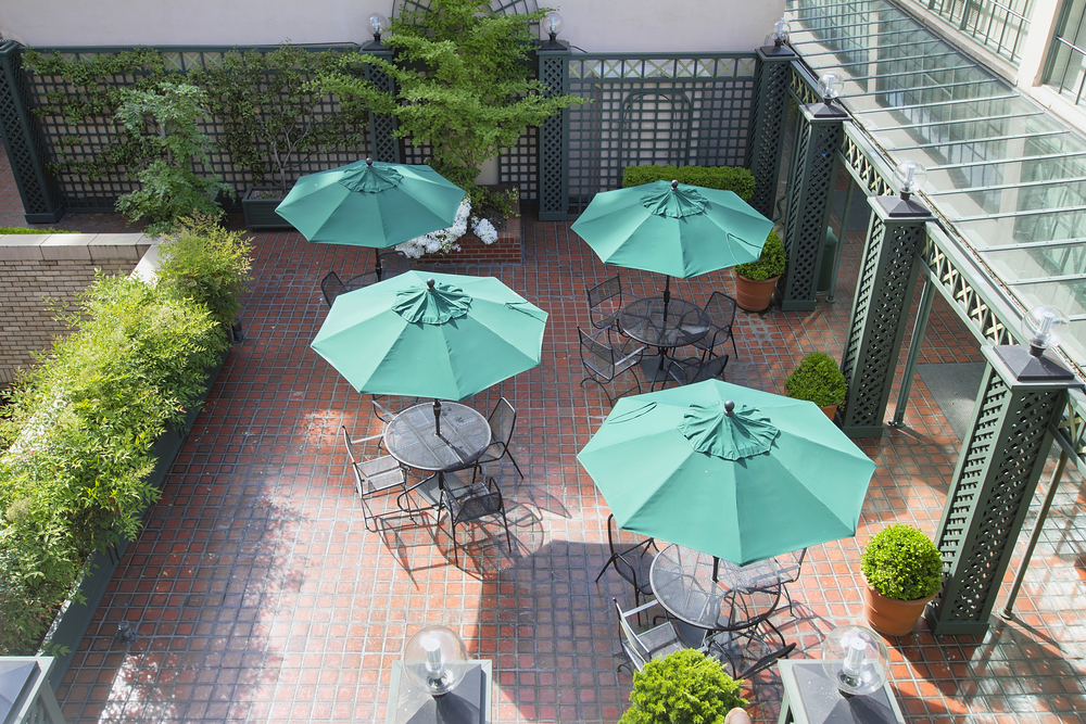 New Orleans commercial patio cover types - Big Easy Fences