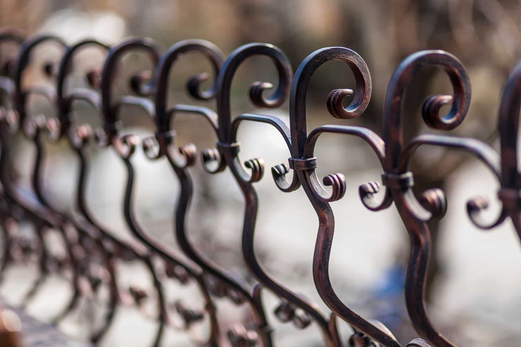 wrought iron garden gate new orleans - Big Easy Fences