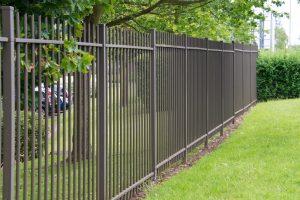 Wrought iron metal fence panels - Big Easy Fences