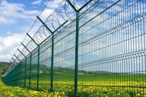 Farm with Metal Wire Fences - Big Easy Fences