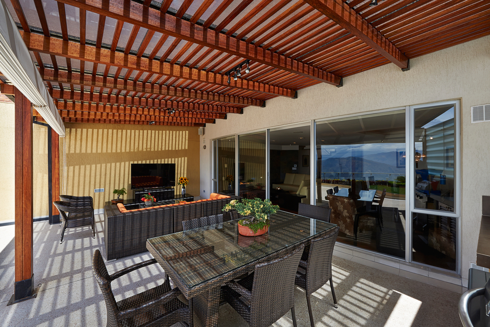 beautiful commercial outdoor deck